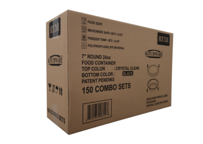 Food Container 7R 24oz MCR.724B