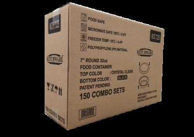 Food Container 7R 32oz MCR.732B