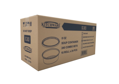 Soup Container 8oz SC.0825